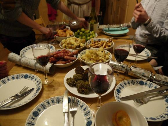 My sister's christmas dinner