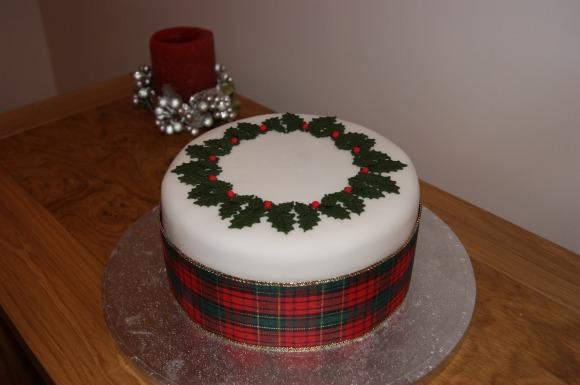 CakeyKate christmas cake