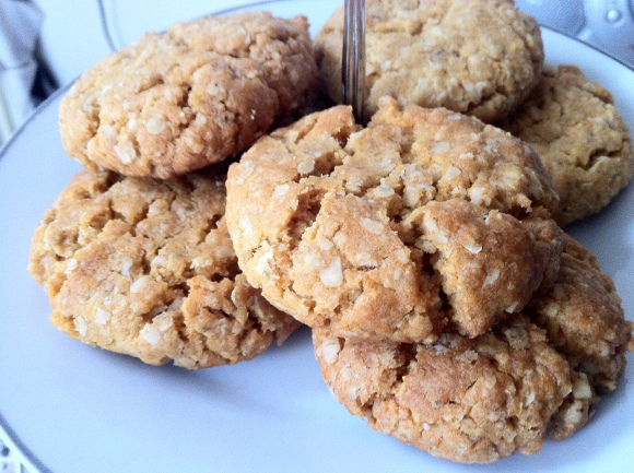 Oat and Honey Cookies