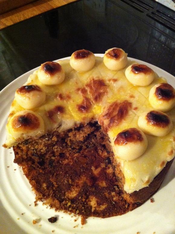 Mum's Simnel Cake
