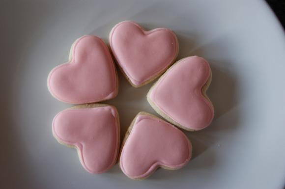 rosewater cookies
