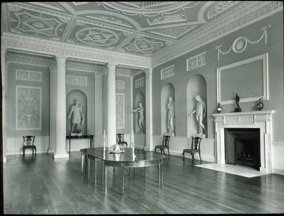 dining room lansdowne house robert adam 3