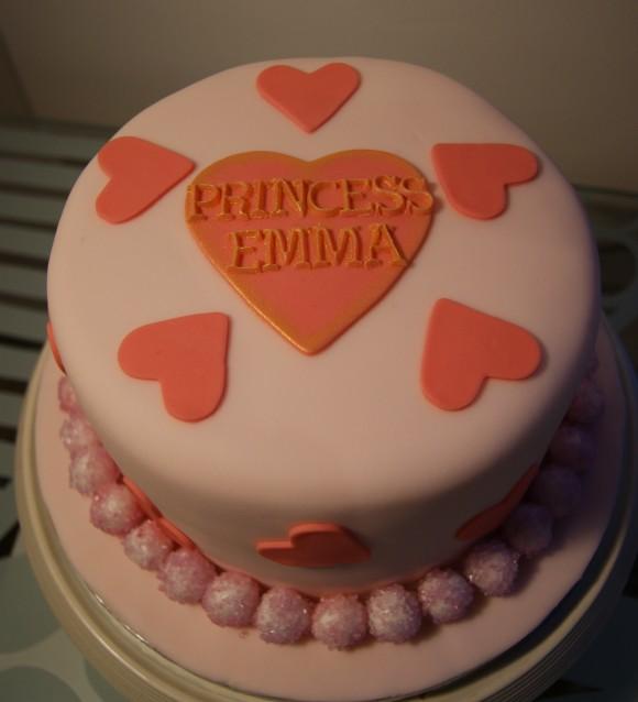 Dairy free princess cake